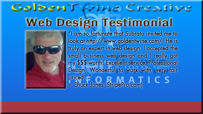 Slide 18 - Web Design Testimonial
